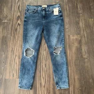 Free People NWT High Rise Skinny Jeans